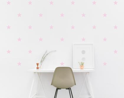 מדבקות כוכבים   מדבקות לחדר תינוקות   מדבקות קיר כוכבים ורודים   מדבקות לחדר ילדים   מדבקות לחדרי ילדים   מדבקות קיר   מדבקות לעיצוב הבית