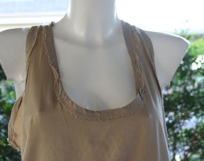 נלה-טוניקה / חולצה בצבע אבן / חולצה לנשים