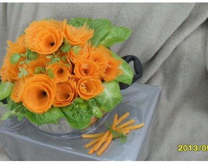 עיצוב מתנה בשילוב סידורי ירקות