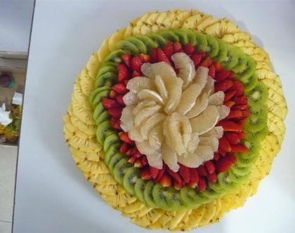 פלטת פירות משובבת גודל L
