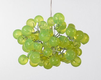 גוף תאורה כדורים תלויים ירוק לימון