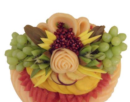 מגש פירות בעיצוב תלת מימד גודל M