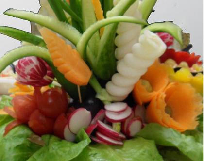 זר ירקות אכיל