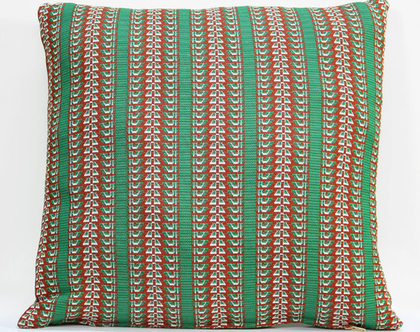 כרית נוי, כרית לספה, כרית לסלון, כרית ירוקה, כרית רטרו, כרית וינטאג׳