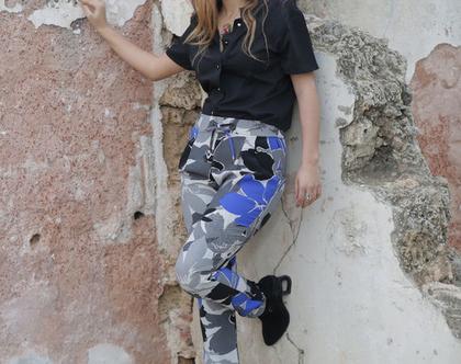 מכנס גומי מכנס כפליים מכנס מודפס מכנס ספורטיבי מכנס הריון