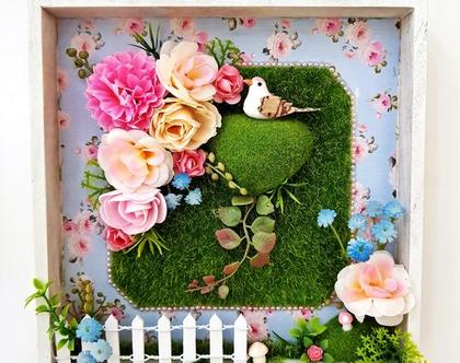 תמונה, רומנטית, פרחים ורודים