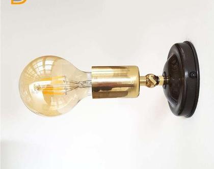 (בלה)מנורת ספוט מתכוננת לתיקרה -מנורת קיר מתכת זהב שחור-גוף תאורה מעוצב-גופיי תאורה למסעדות