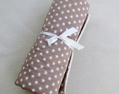 שמיכת חורף כוכבים מפנקת לתינוק/ת, שמיכה מעוצבת לתינוק, שמכת עגלה נעימה, מתנה ללידה, מתנה ליולדת, סל לידה