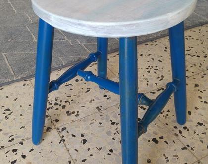 שרפרף מחודש גווני כחול