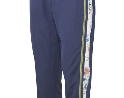 מכנס גומי פס כחול, מכנס קופרו, מכנסיים כחולים
