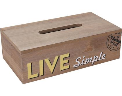 קופסה לטישו מעץ עם גרפיקה מיוחדת | קופסא לטישו | קופסא לממחטות נייר | קופסא מעץ | איחסון טישו