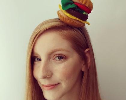 קשת לשיער צ'יזבורגר בעבודת יד