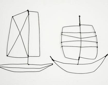 סירות - חוטי ברזל