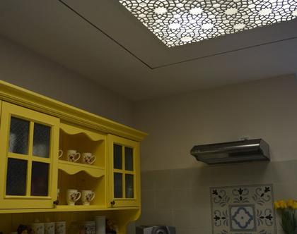 משרביה לתקרה גבס דגם FAVO   משרביה מעץ   משרביה לבית   תקרת גבס משרביה   משרבייה מעוצבת