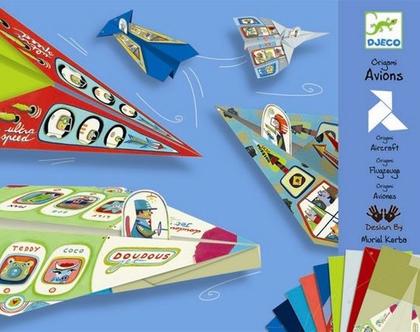 אוריגמי-מטוסים בנים