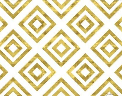 פלייסמט מעוצב בצבע זהב - לשולחן האוכל