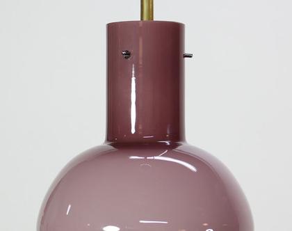 מנורת וינטאג׳ סגולה קטנה, מנורת תקרה סגולה קטנה, מורנו סגולה קטנה