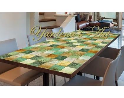 מפת שולחן PVC מעוצבת - דגם HAGAR | מפת שולחן עיצוב בהתאמה אישית