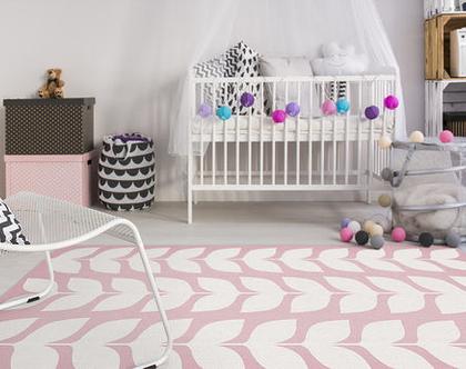 """שטיח PVC עבה במיוחד לילדים דגם- """"יסמין ורוד"""""""