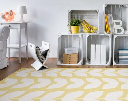 """שטיח PVC עבה במיוחד לילדים דגם- """"יסמין צהוב"""""""