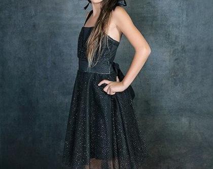 שמלת בת מצווה שחורה