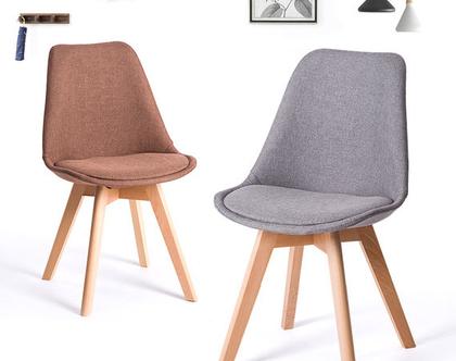 """כסא """"ראול"""" מרופד"""