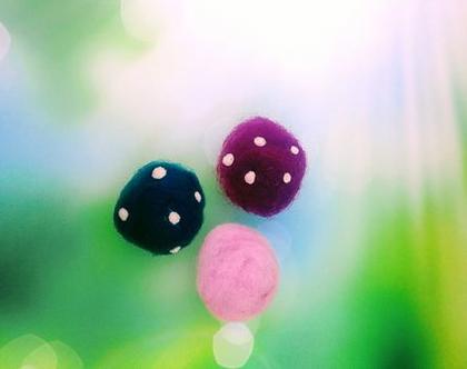 פטריות מלובדות, פטריות צבעוניות, פטריות למשחק ולקישוט, פטריות בעבודת יד