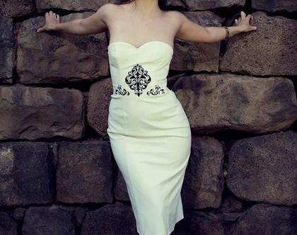 שמלת ערב לבנה