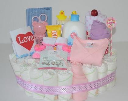 עוגת בייבי ליולדת ולרך הנולד
