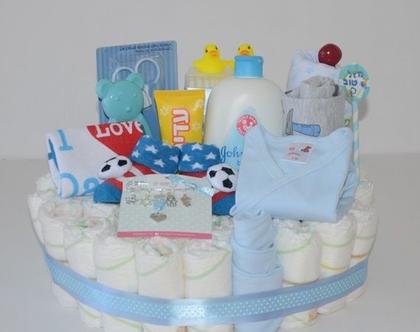 מארז עוגת בייבי | חיתולים ומוצרים