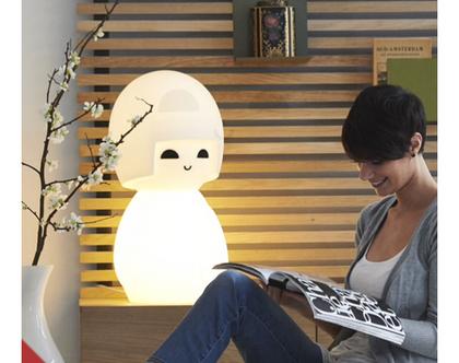 מנורת אוירה/ מנורת לילה יפנית/ מנורה דקורטיבית/ מנורת לילה / תאורה לחדר ילדים/ תאורת לילה