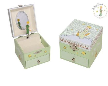 קופסת תכשיטים הנסיך הקטן ירוקה