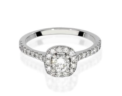 טבעת אירוסין JASMINE
