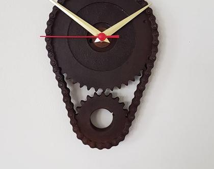 שעון מתכת תעשייתי