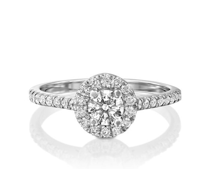 טבעת אירוסין הילה FELICY