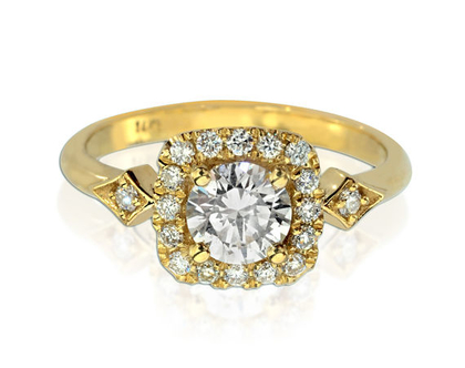 טבעת אירוסין MORIA
