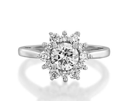 טבעת אירוסין SUNRISE
