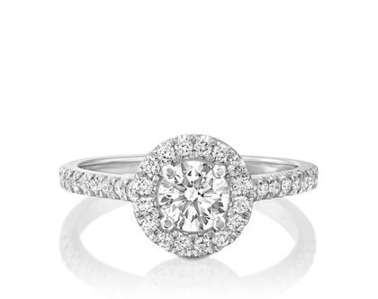 טבעת אירוסין הילה FELICITY