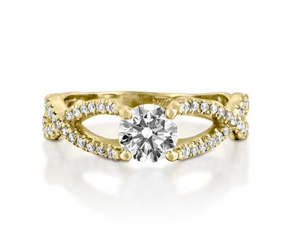 טבעת אירוסין מיוחדת LEONOR