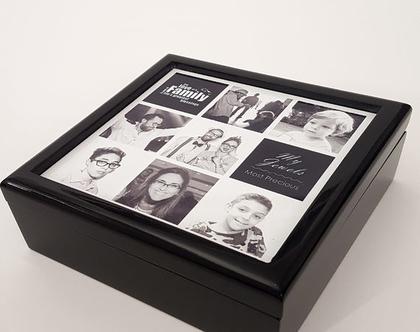 קופסת תכשיטים מיוחדת   קופסאות תכשיטים   מתנה   מתנות   לאישה   מתנה עם תמונה   מיוחדת   מקורית   לאמא   ליום הולדת