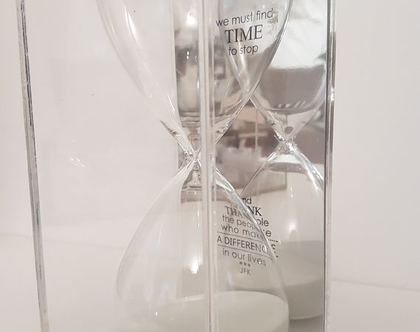 שעון חול עם מסר מיוחד   מתנה עם מסר   מתנה מקורית   מתנה מיוחדת   מתנה רוחנית   מתנה למשרד   מתנה לרופא