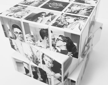 קוביה הונגרית ענקית מתמונות אישיות | מתנות בעיצוב אישי| מתנות מיוחדות לגבר | מתנה עם תמונה | מתנות עם תמונות | מתנות מעוצבות | מתנה לגבר