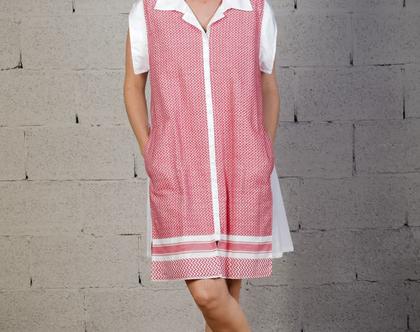 שמלת HAYDI | לבנה
