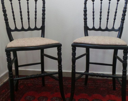 זוג כסאות צרפתיות עתיקות