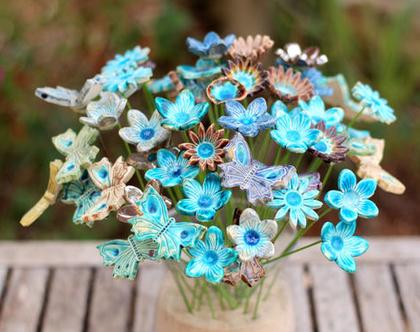 פרחים לאירוע | סידורי פרחים | זר פרחים | פרחי קרמיקה | עיצוב אירועים | פרחים מקרמיקה | פרחים לשולחן | פרחים צבעוניים | מתנה לחג