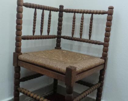 כסא פינתי וינטג'