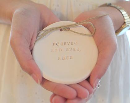 צלוחית קרמיקה לטבעות נישואין   אקססוריז לחתונה   צלוחית לטבעות חתונה   מתנה לכלה   מתנה לכלה   מתנה לחתונה  יום נישואין   מתנה לאירוסין