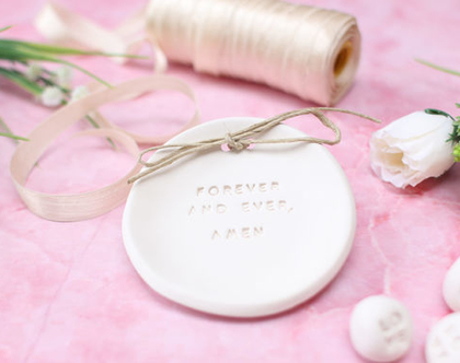 צלוחית קרמיקה לטבעות נישואין   אקססוריז לחתונה   צלוחית לטבעות חתונה   מתנה לזוג שמתחתן   מתנה לחתונה   יום נישואין   מתנה לאירוסין