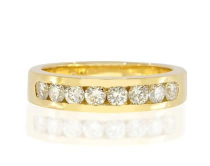 טבעת יהלומים שורה 0.38ct, טבעת יהלומים, טבעת שורה, טבעת יהלומים לאישה, טבעת מתנה לאישה, טבעת זהב ויהלומים, טבעת זהב לבן