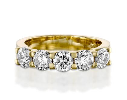 טבעת חמישה יהלומים MOON, טבעת יהלומים לאישה, טבעת יהלומים, טבעת מיוחדת, טבעת יהלומים לאישה, טבעת מתנה לאישה, טבעת זהב ויהלומים, טבעת יוקרתית